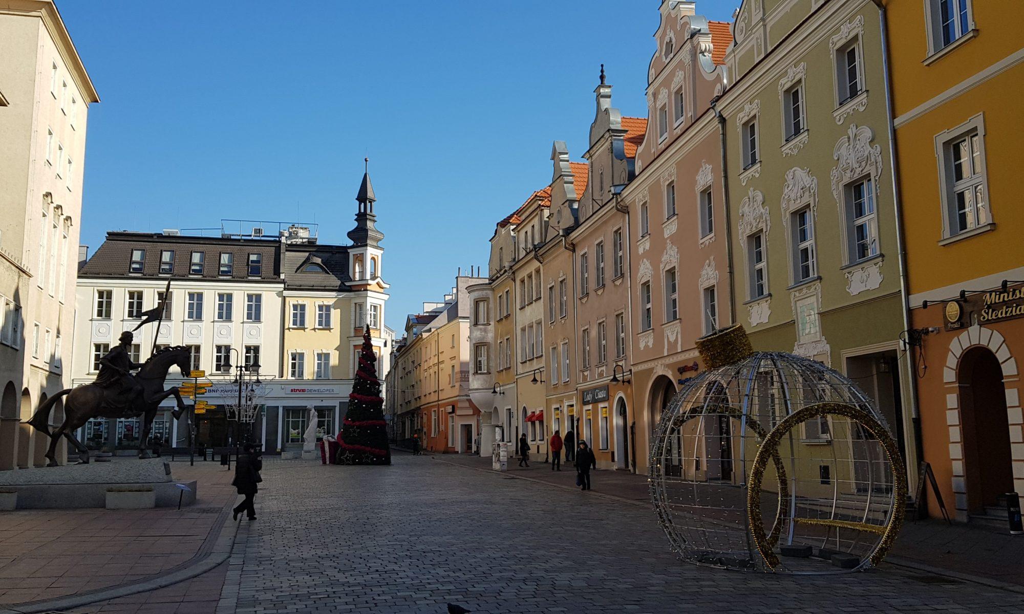 Opole Rynek Ratusz