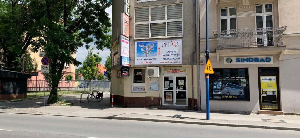 Biuro Tłumaczeń OPTIMA ul. Reymonta 45, Opole